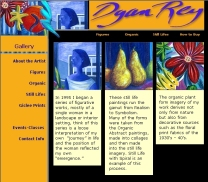Inside Page Artist Site