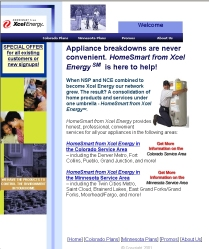 Home Page Customer Service Site