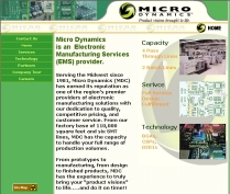 Home Page Manufactures Site